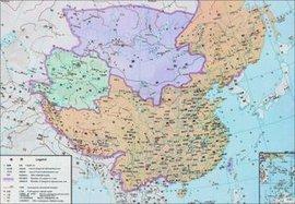 中国历史朝代表