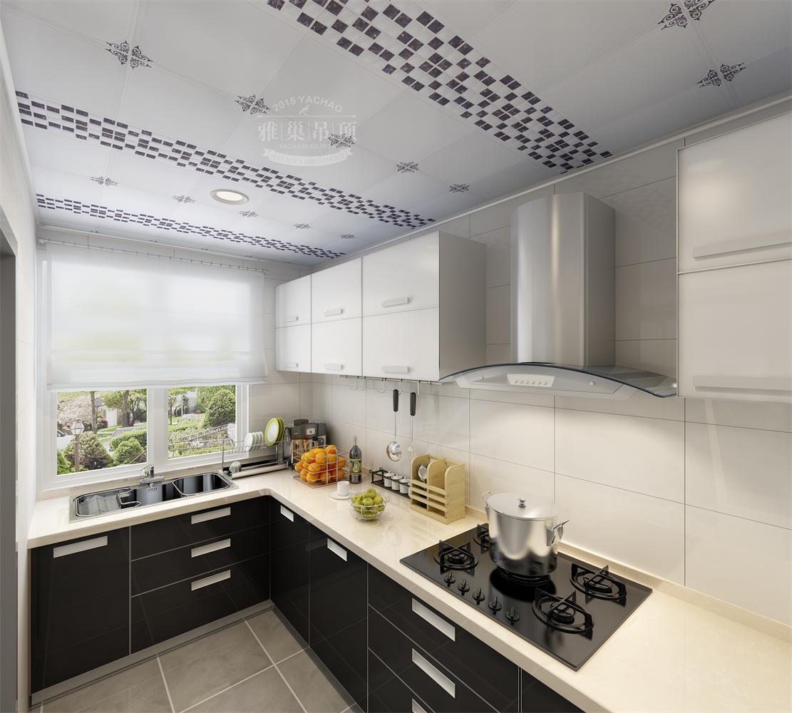 厨房集成吊顶安装图解