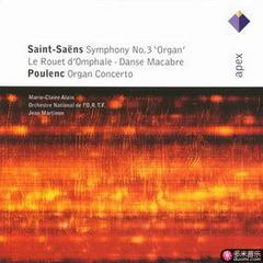 saint-saens : symphonie n° 3 avec orgue en ut min