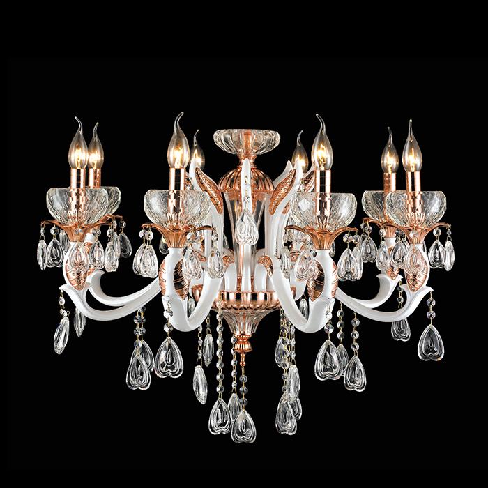 欧式烛台吊灯具有皇家高贵的气质,是奢华典雅的代名词.