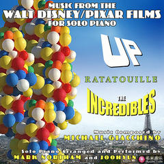 up • ratatouille • the incredibles - music from the walt disney/pixar films for solo piano