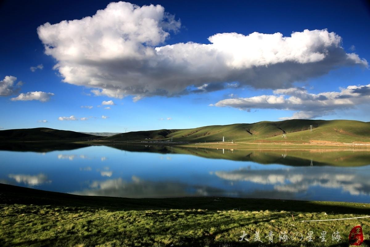 玛多县位于青海省果洛藏族自治州西北部.