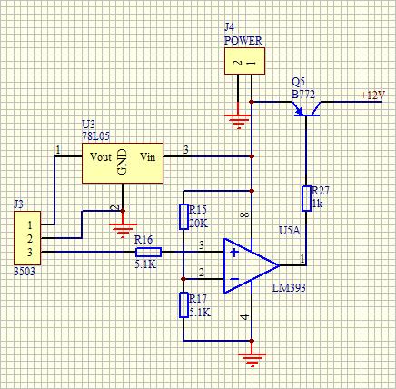 请教一下大神,下面这张电路图中的 j4 power 是什么东西?什么元件?