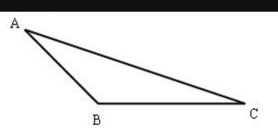 钝角三角形怎么画?_360问答