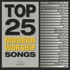 top 25 modern worship songs