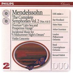 mendelssohn: the symphonies vol.2; violin concerto; a midsummer night's dream(2 cds)