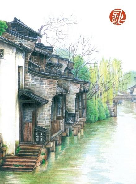 風景 古鎮 建筑 旅游 攝影