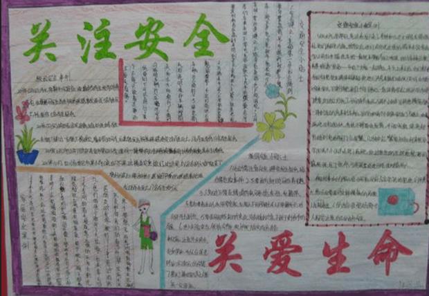 春节安全手抄报的内容该写什么?图片